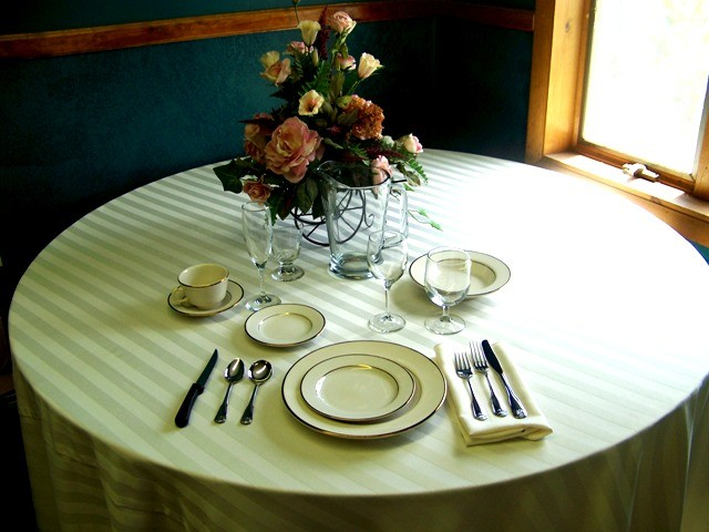 Diplomat & Fostersu0027 Tent and Canopy Rentals - Tableware - Dishes Flatware ...
