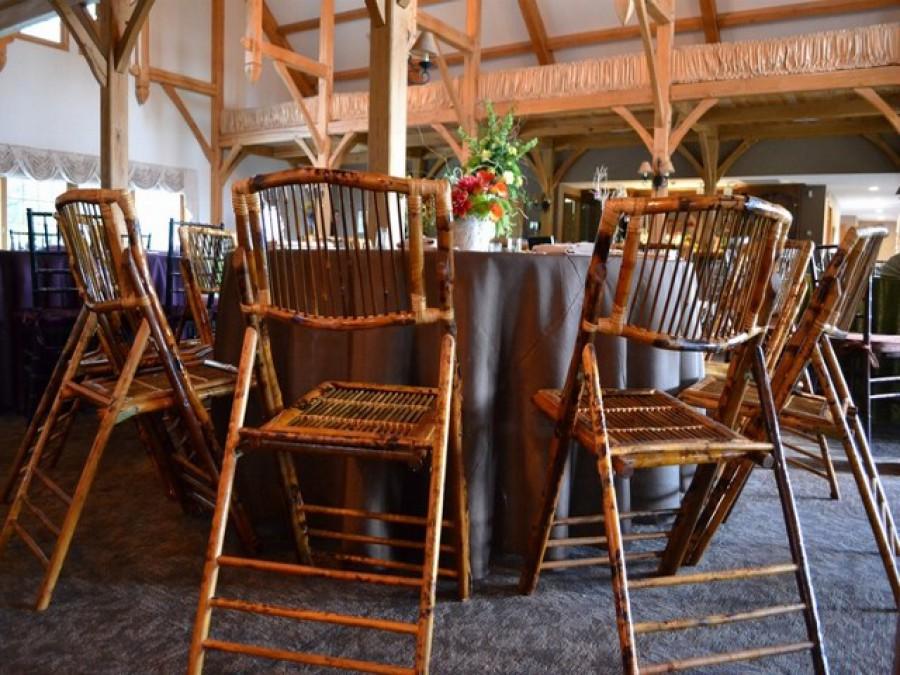 Rustic Bamboo Chair